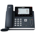 Yealink T46G SFB Wired handset Black IP phone