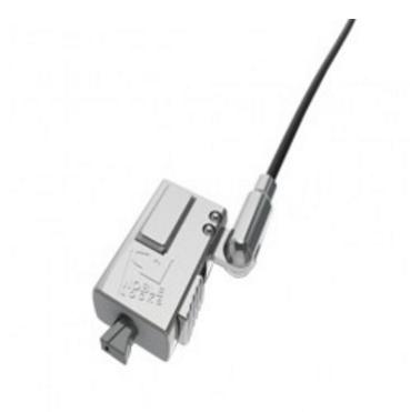 Compulocks WDG08 cable lock Black,Silver