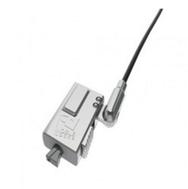 Compulocks WDG08 cable antirrobo Negro, Plata