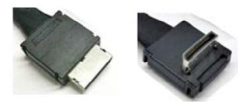 Intel AXXCBL800CVCR adaptador de cable OCuLink SFF-8611 Negro
