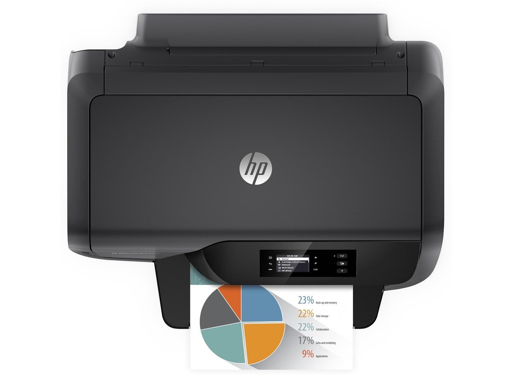 hp officejet pro 8210 inkjet printer colour 2400 x 1200 dpi a4 wi fi 532 in distributor. Black Bedroom Furniture Sets. Home Design Ideas