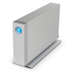 LaCie d2 8000GB Grey external hard drive