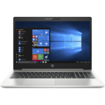"HP ProBook 450 G6 Notebook 39.6 cm (15.6"") 1366 x 768 pixels 8th gen Intel® Core™ i3 8 GB DDR4-SDRAM 128 GB SSD Wi-Fi 5 (802.11ac) Windows 10 Home Silver"