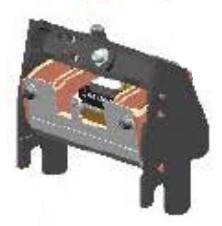 Zebra P1031925-070 cabeza de impresora Transferencia térmica