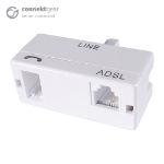 CONNEkT Gear ADSL Micro Filter BT Male to BT/RJ11 Female