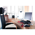 Kensington Duo Gel Mouse Pad Red/Smoke