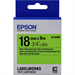 Epson C53S655005 (LK-5GBF) DirectLabel-etikettes, 18mm x 9m