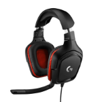 Logitech G G332 Black & Red Gaming Headset