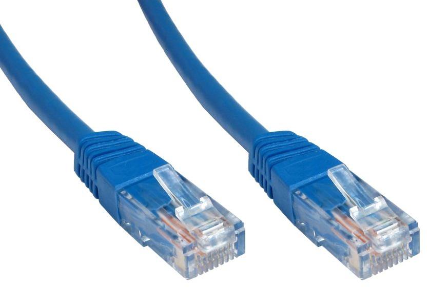 Cables Direct Cat6 U/UTP 2m Cat6 U/UTP (UTP) Blue networking cable ...