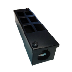 Cablenet 6 Way POD Box Vertical 3 x 2 Rows LJ6C 70mm Deep 32mm Entry