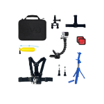 Jivo Technology GoGear 8in1 GoPro Accessories Pack