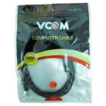VCOM CV201-3.0 audio cable 3 m 3.5mm Black