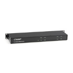 Black Box LE7408A 1U Black Network Chassis
