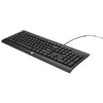 HP PS/2 Slim Business Keyboard - UK Layout, Black, (N3R86AT#ABU)