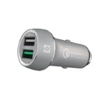 ifrogz Qualcomm Quick Charge 3.0 Auto Grijs