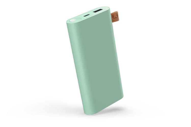 Fresh 'n Rebel 2PB12000MM batería externa Verde Polímero de litio 12000 mAh Cargador inalámbrico