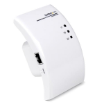 StarTech.com Wi-Fi Wireless Range Extender – 300 Mbps 802.11 b/g/n Access Point / Repeater / Signal Booster