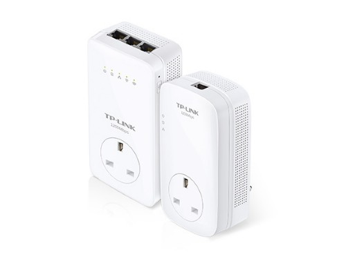 TP-LINK AV1200 Ethernet LAN Wi-Fi White 2 pc(s)