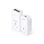 TP-LINK AV1200 Ethernet LAN Wi-Fi White 2pc(s) PowerLine network adapter