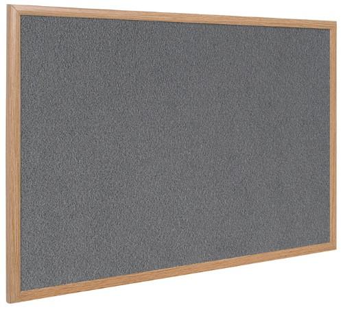 Bi-Office FB0742239 insert notice board Indoor Grey Wood