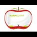 "Hannspree Hanns.G HA 195 HPR 47 cm (18.5"") 1366 x 768 pixels WXGA LCD Red, White"