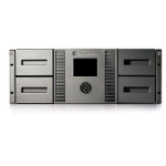 Hewlett Packard Enterprise MSL4048 2 LTO-4 Ultrium 1840 Fibre Channel Tape Library 38400GB 4U tape auto loader/library