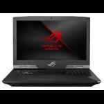 "ASUS ROG G703GXR-EV003T Titanium Notebook 43.9 cm (17.3"") 1920 x 1080 pixels 9th gen Intel® Core™ i7 32 GB DDR4-SDRAM 1512 GB Hybrid-HDD+SSD Windows 10 Home"