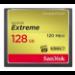 Sandisk CF Extreme 128GB memoria flash CompactFlash