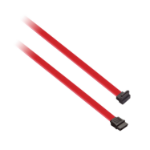 V7 SATA Cable 7P-Right Angle (m/m) red 0,45m