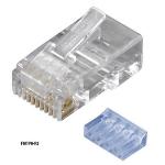 Black Box FMTP6-R2-10PAK wire connector RJ-45 Transparent
