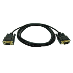 Tripp Lite Null Modem Serial DB9 Serial Cable (DB9 M/F), 6-ft. serial cable