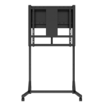 "Hagor HD 160 2.79 m (110"") Portable flat panel floor stand Black"