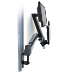 "Ergotron StyleView Sit-Stand Combo Arm 24"" Aluminium"