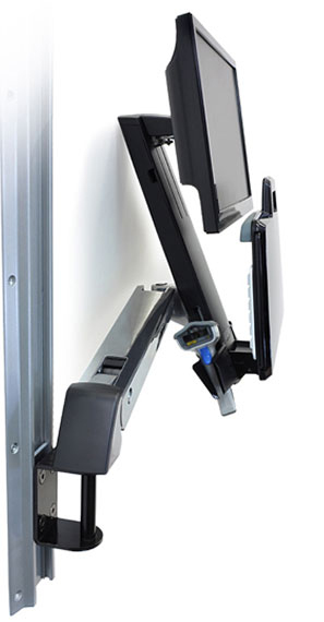 Ergotron Styleview Sit Stand Combo Arm 61 Cm 24