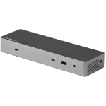 StarTech.com TB3CDK2DH notebook dock/port replicator Wired Thunderbolt 3 Black, Silver