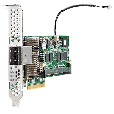 Hewlett Packard Enterprise Smart Array P441/4GB FBWC 12Gb 2-ports Ext SAS PCI Express x8 3.0 12Gbit/s RAID controller