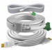 Vision 5M CABLE PACKAGE - White, Installation-grade cables. Includes: 1 x VGA, 1 x 3.5mm Minijack, 1 x HDMI