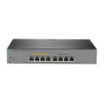 Hewlett Packard Enterprise OfficeConnect 1920S 8G PPoE+ 65W Managed L3 Gigabit Ethernet (10/100/1000) Power over Ethernet (PoE) 1U Grey