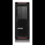 Lenovo ThinkStation P720 DDR4-SDRAM 4114 Tower Intel Xeon Silver 16 GB 512 GB SSD Windows 10 Pro for Workstations Workstation Black