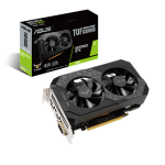 ASUS TUF Gaming TUF-GTX1650-4GD6-P-GAMING graphics card NVIDIA GeForce GTX 1650 4 GB GDDR6
