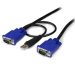 StarTech.com 15 ft 2-in-1 Ultra Thin USB KVM Cable KVM cable