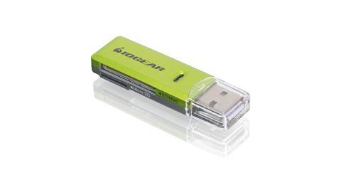 iogear GFR204SD card reader Green
