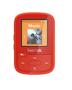 Sandisk SDMX28-016G-G46R MP3 16GB Red