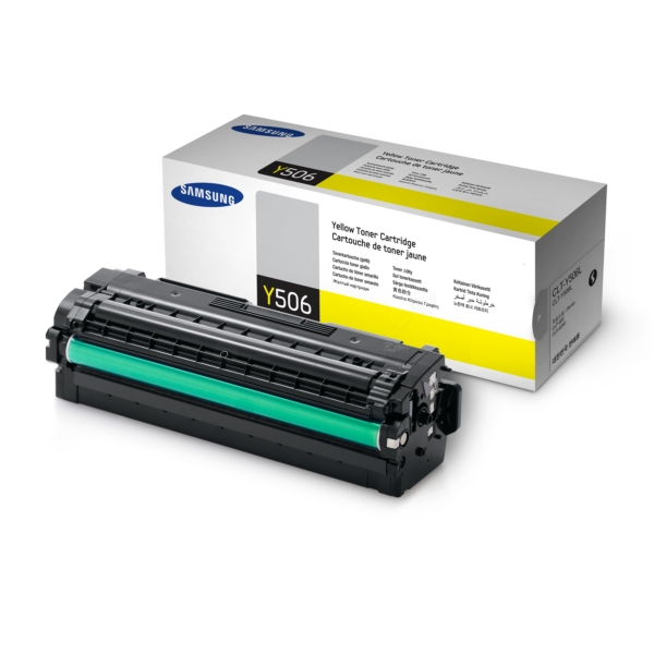 Samsung CLT-Y506L/ELS (Y506) Toner yellow, 3.5K pages