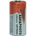 AgfaPhoto CR123A Lithium 3V non-rechargeable battery