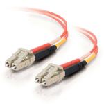 C2G 85502 20m LC LC Orange fiber optic cable