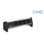 Bachmann Desk 1 power extension 2 AC outlet(s) Indoor