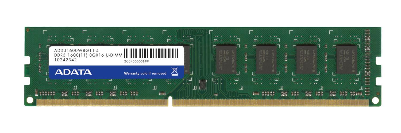 ADATA 8GB DDR3 1600 MHz 8GB DDR3 1600MHz memory module