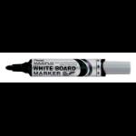 Pentel Whiteboard Marker Bullet Tip Black PK12