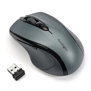 Kensington Pro Fit® Mid-Size Wireless Mouse - Graphite Grey